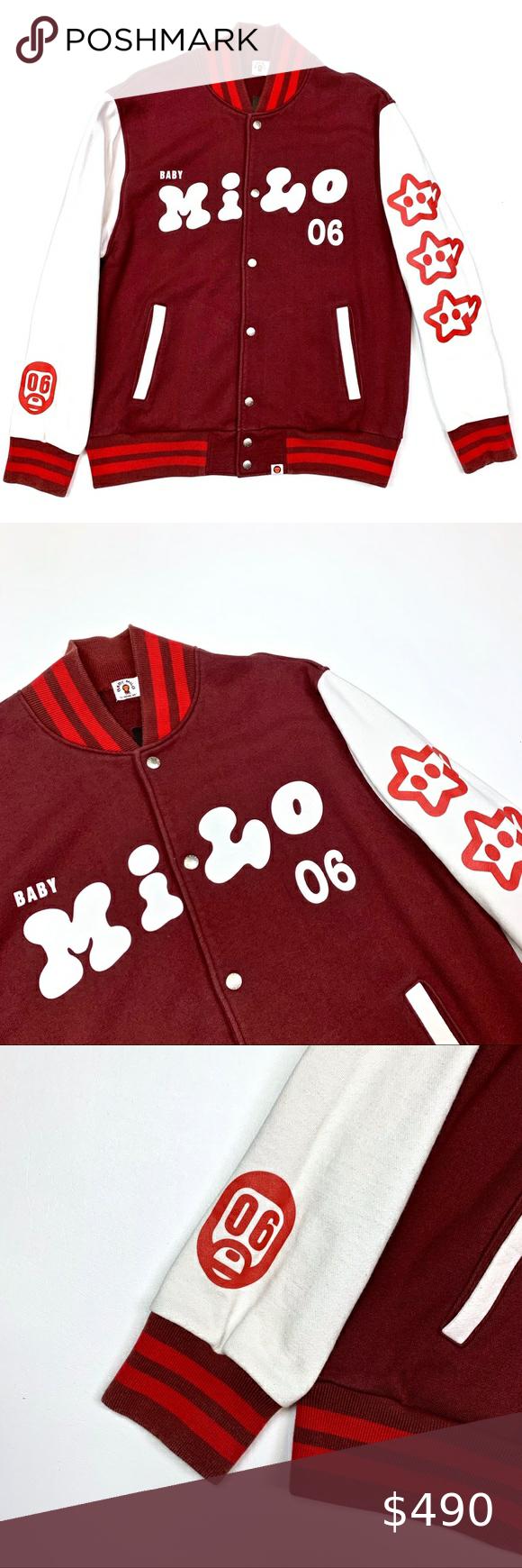 2006 Baby Milo Varsity Letterman Jacket M Medium in 2020