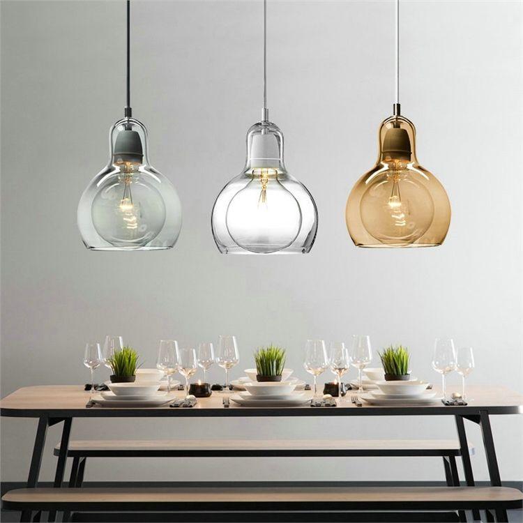 ペンダントライト 照明器具 店舗照明 リビング照明 食卓照明 ガラス製 オシャレ 3灯 照明 リビング