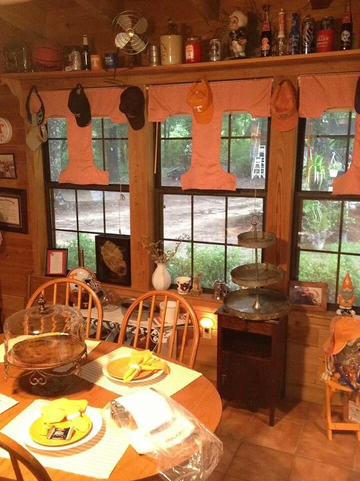 Tennessee Volunteers Curtains Cute Idea Tennessee Volunteers Orange House Sweet Home