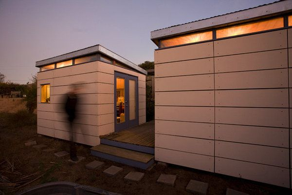 Modern Shed His & Hers