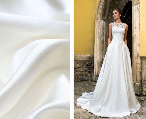 Saténové svadobné šaty  7d6452608d7