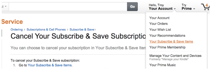 Cancel An Amazon Subscribe Save Subscription In 3 Simple Steps