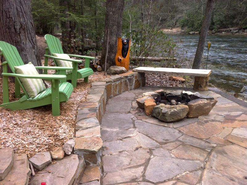Creative Fire Pit Ideas For The Cabin Fire Pit Landscaping Outdoor Fire Pit Fire Pit Patio