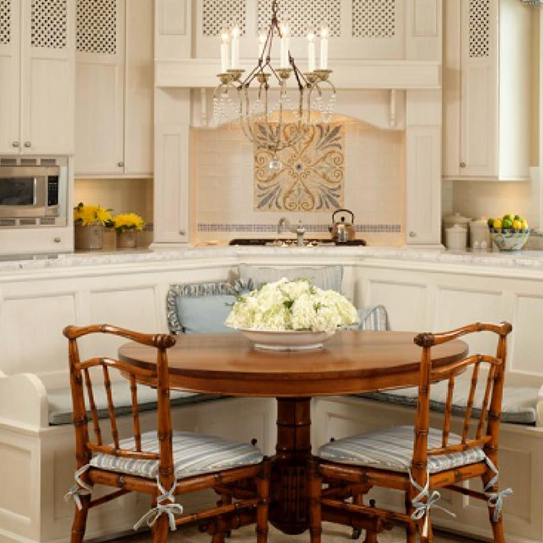 Casual Dining Rooms Decorating Ideas For A Soothing Interior: White Farmhouse Kitchen, Kitchen Renovation Ideas, Casual