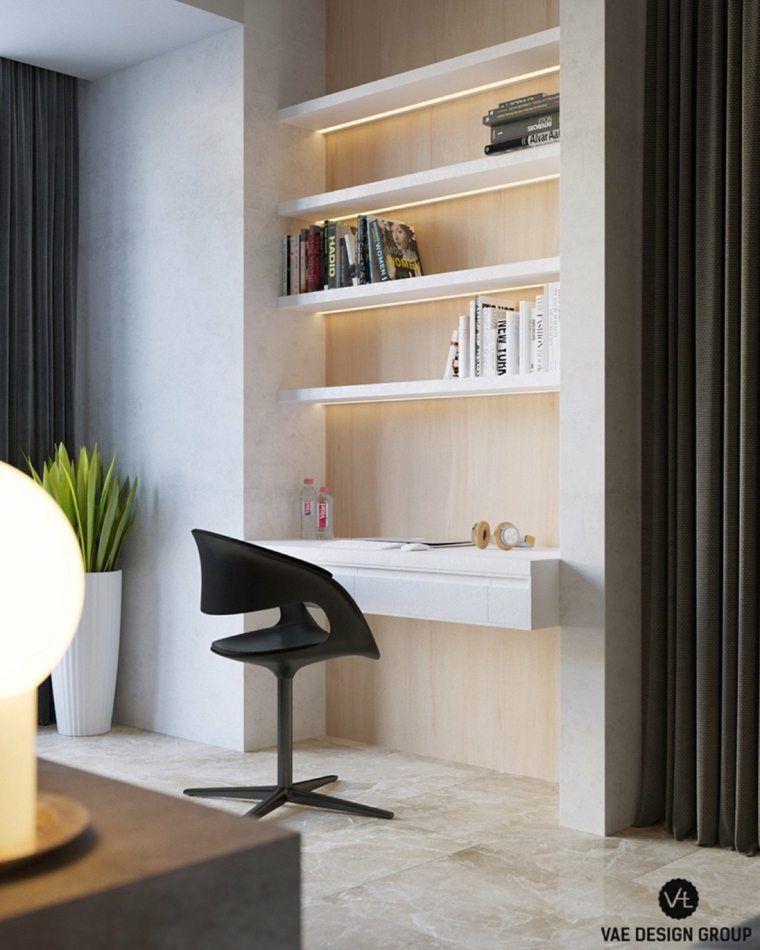 id e appartement petit espace am nager bureau chaises d co plante orden dise o de interiores