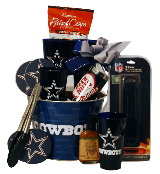 Pin By Gift World Inc On Gifts For Dallas Cowboys Fans Tailgating Gifts Raffle Baskets Dallas Cowboys