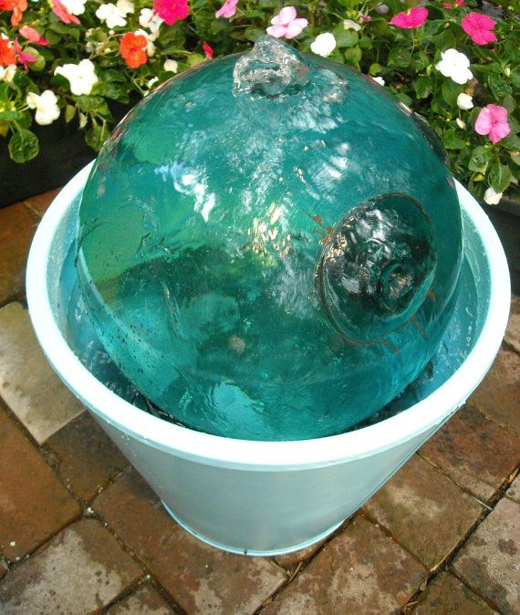 sphere water features for your garden that will steal the show