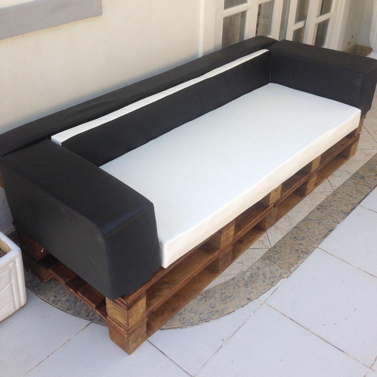Sofa De Pallet 105 Modelos Fotos E Passo A Passo Diy Sofa De