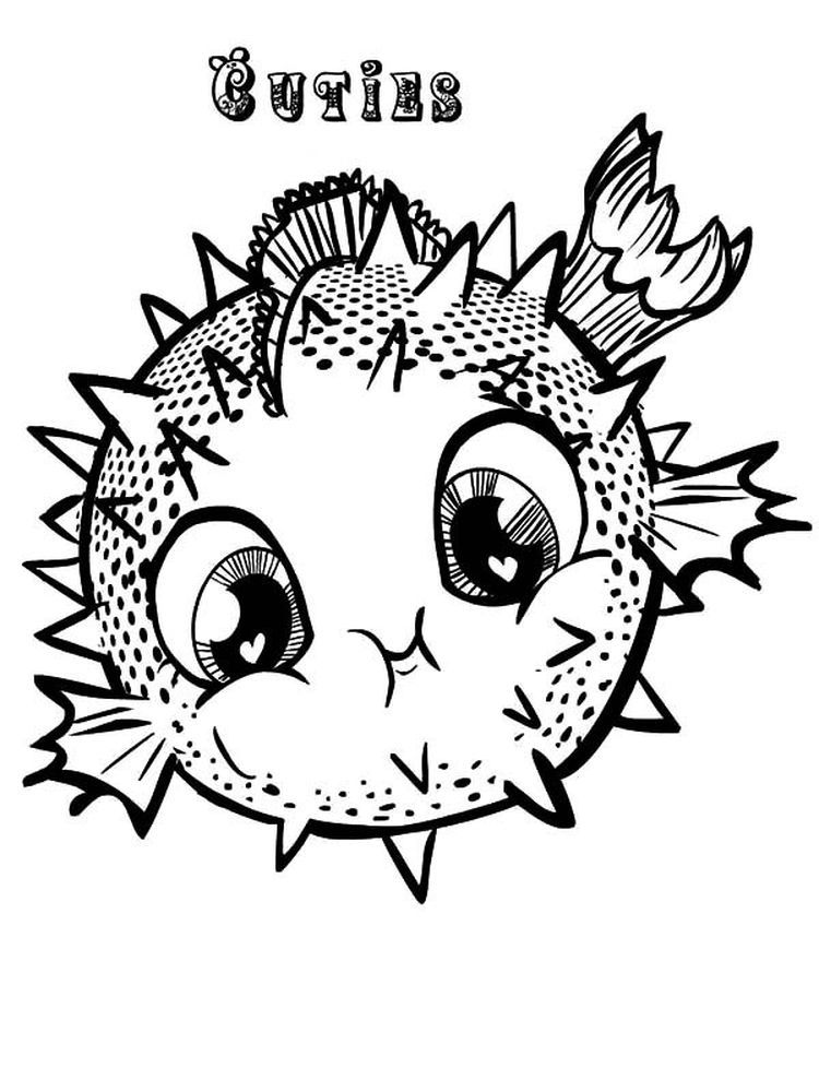 Puffer Fish Coloring Pages Printable Do You Know Puffer Fish Puffer Fish Are Round Fish And Can Expan Fish Coloring Page Animal Coloring Pages Coloring Pages