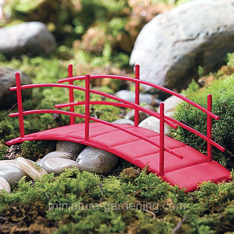 Miniature Gardening Zen Garden Bridge 6 01 Miniature Zen