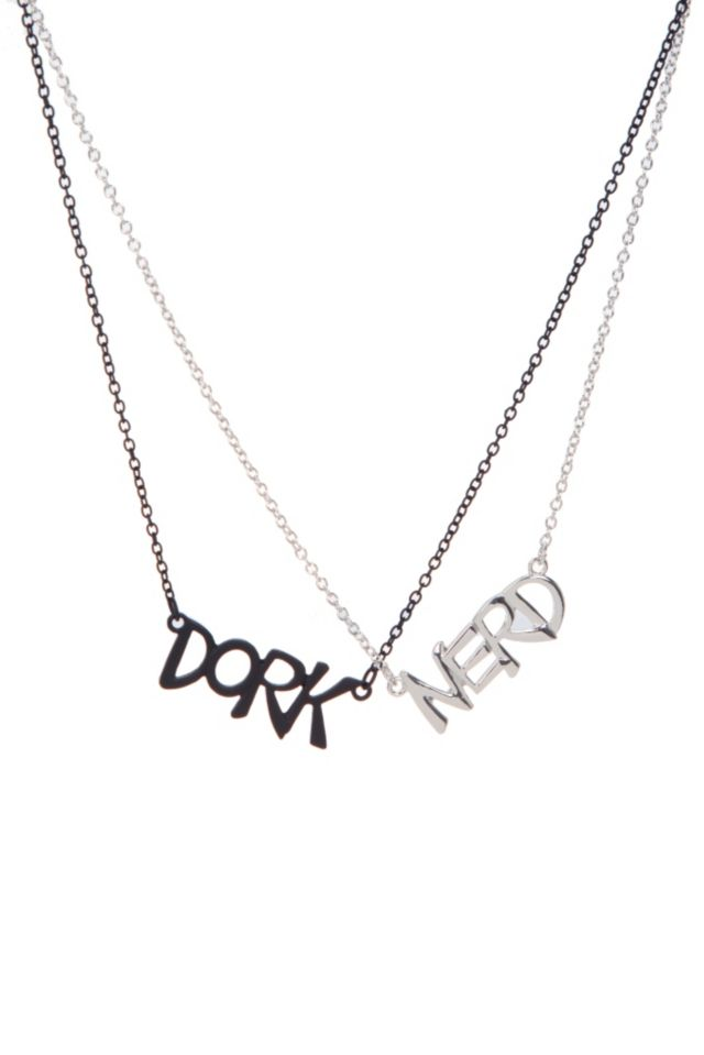 Dork And Nerd Best Friend Necklaces | Hot Topic | Friends for life ...