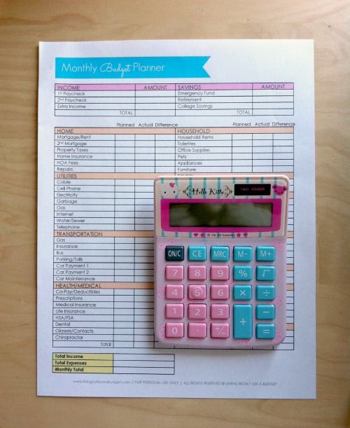 Free Budget Worksheet Budgeting 101, Free printable labels and - How To Make A Household Budget Spreadsheet