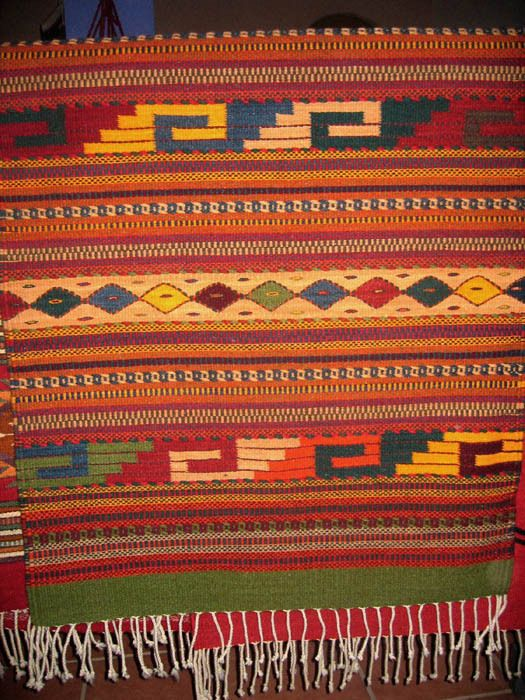Rugs From Teotitlan Del Valle In Oaxaca Hand Woven And