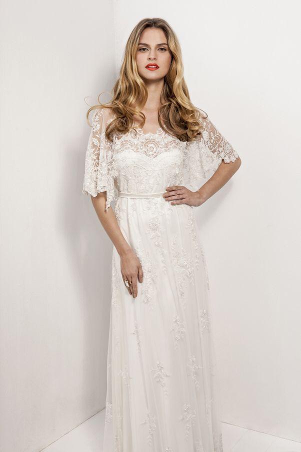 Anya Fleet lace wedding dress. #vintage #downton #edwardian ...