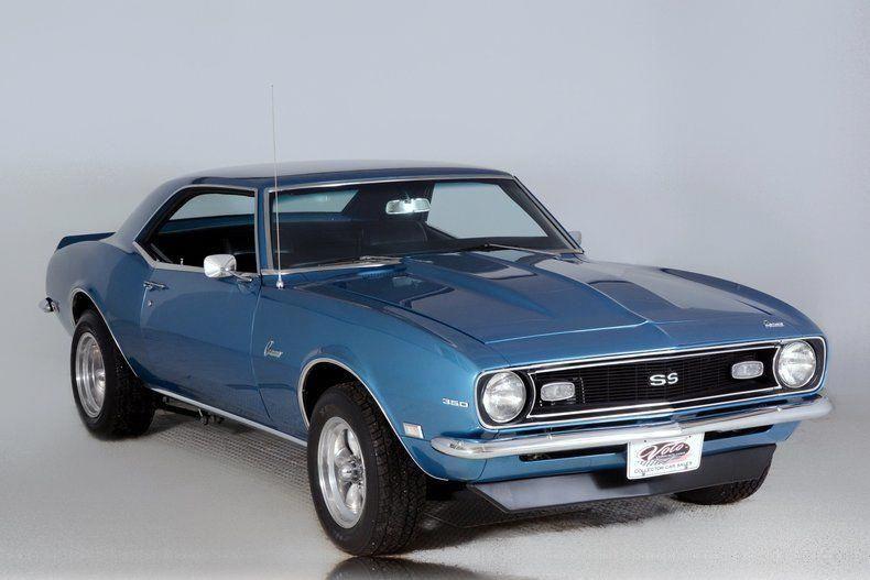 1968 CHEVROLET CAMARO SS CUSTOM COUPE – Barrett-Jackson Auction Company – World's Greatest Collector Car Auctions