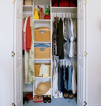 Elegant Total Closet Redo: After