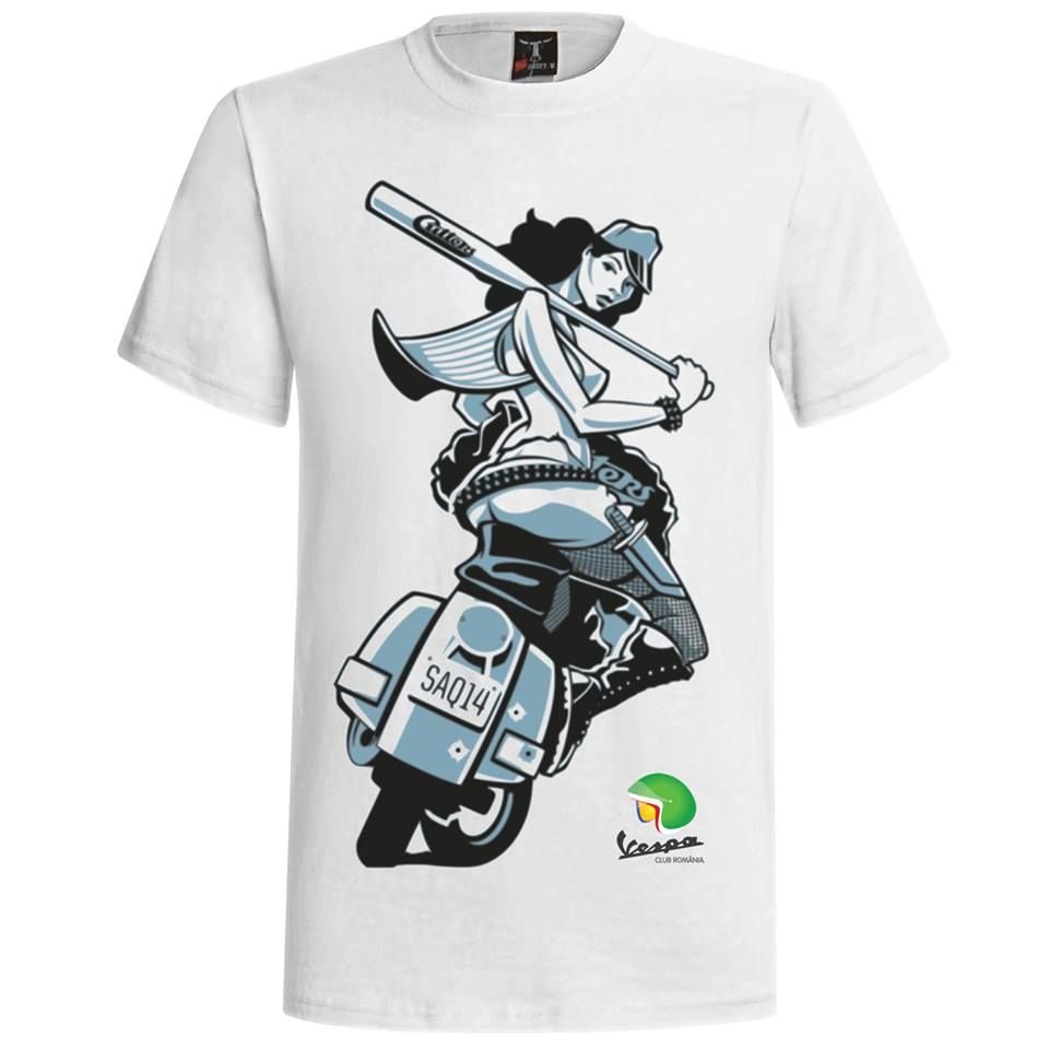 vespa girl tee shirt vespa shirt pinterest podkoszulki dziewczyny i vespa. Black Bedroom Furniture Sets. Home Design Ideas