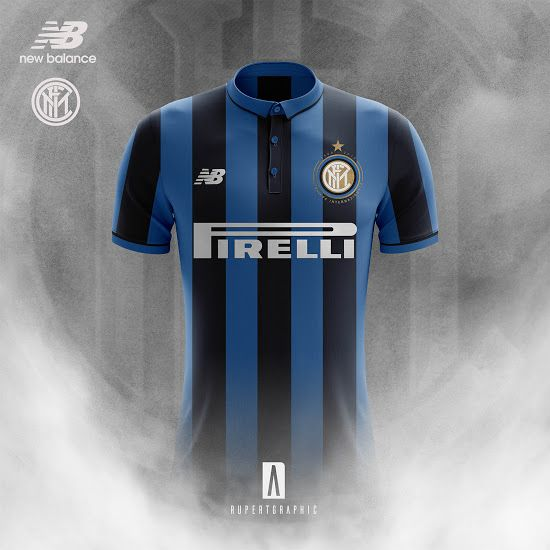 0a1b0b19800 New Balance Inter Milan 17-18 Home