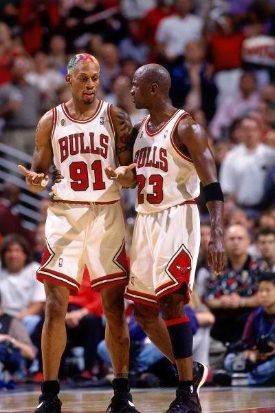 Dennis Rodman Michael Jordan Chicago