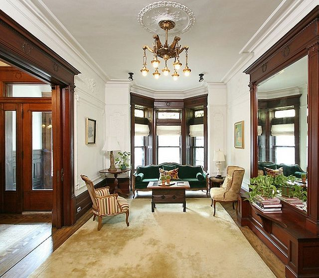 Brownstone Interior Design: Brooklyn New York Brownstone Victorian Interior