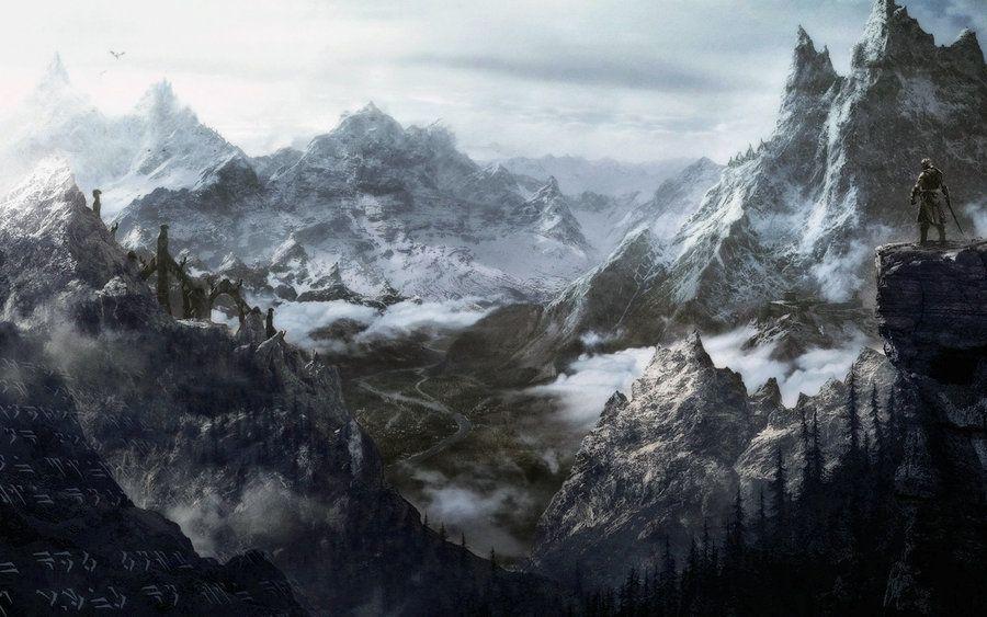 Skyrim Panorama By Kimba Deviantart Com On Deviantart Skyrim
