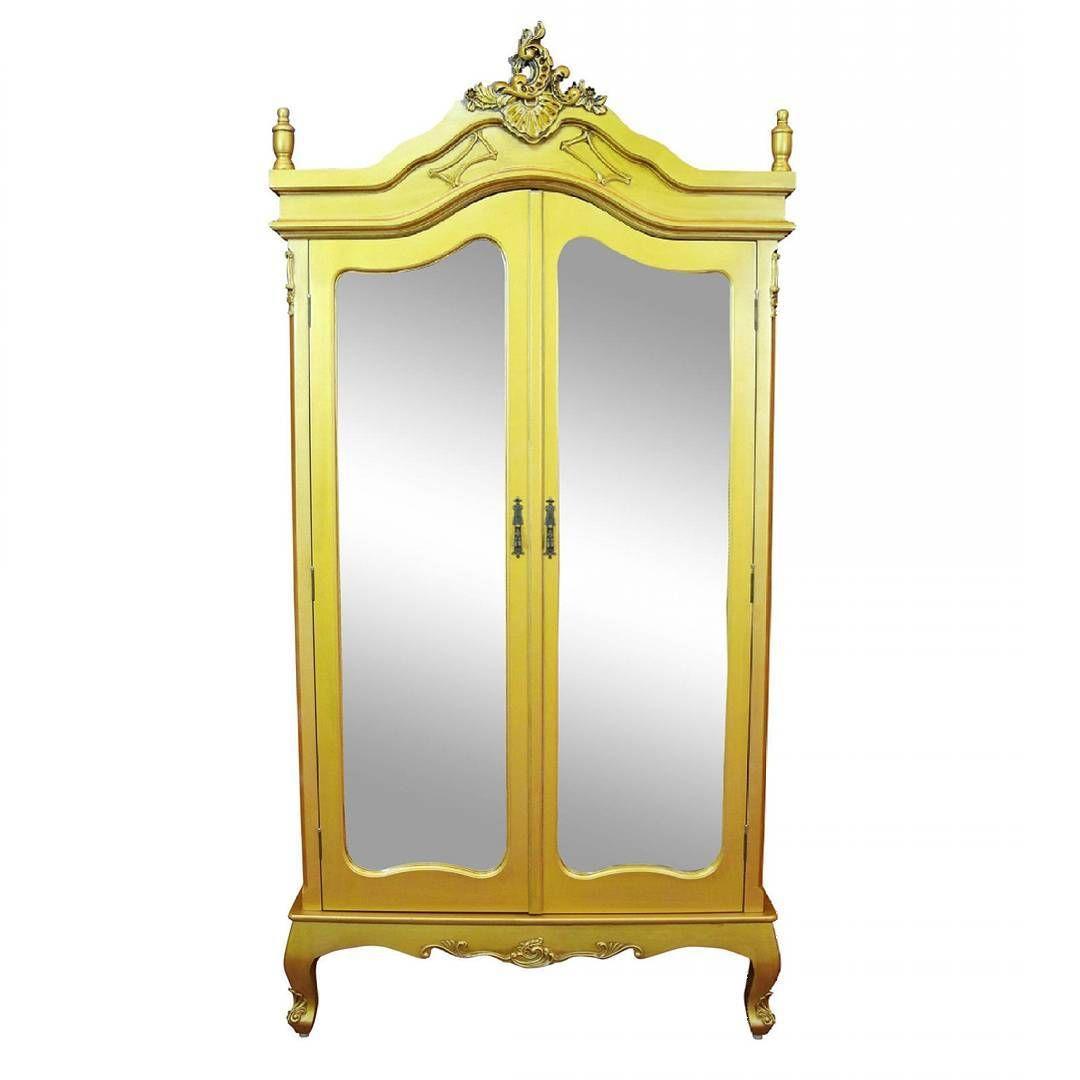 Photo of Hva med en touch av glam på soverommet? LYON er et nydelig 2-dørs garderobeskap med helspeil i klass
