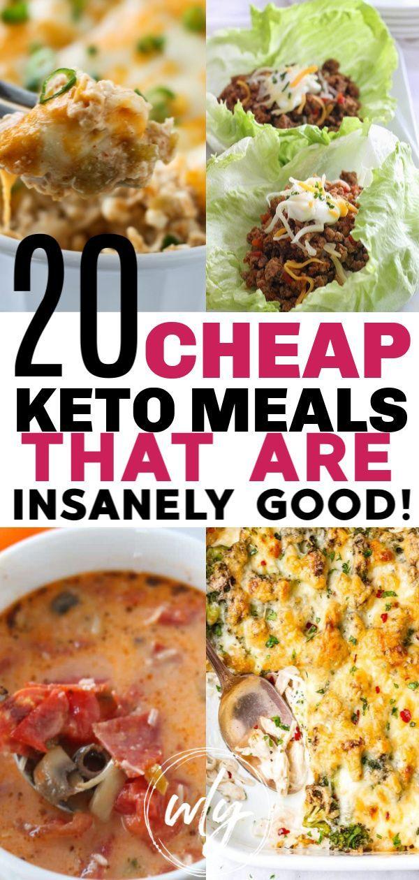 20 Cheap Keto Meals