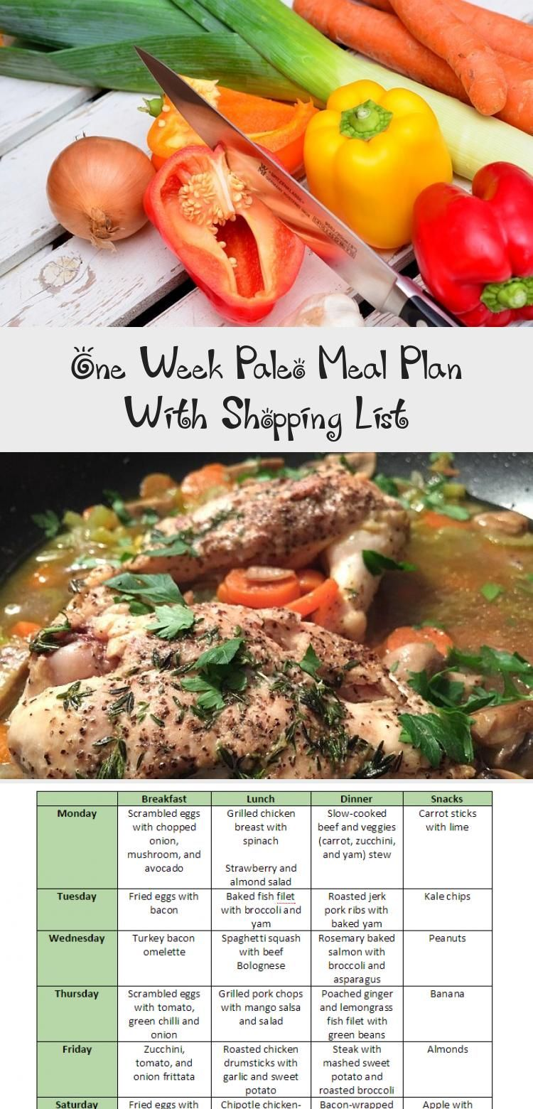 Photo of You can't go wrong with this paleo meal plan