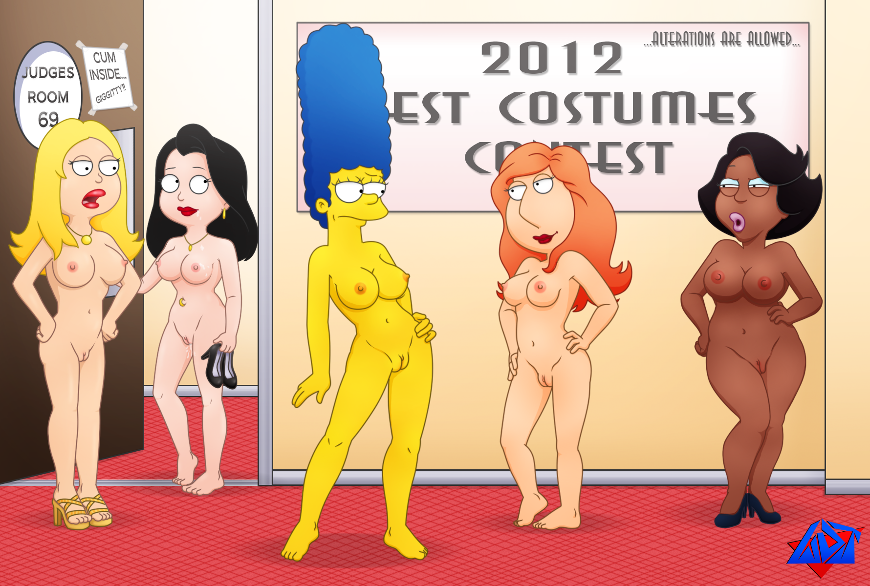 cartoon porn with big tits