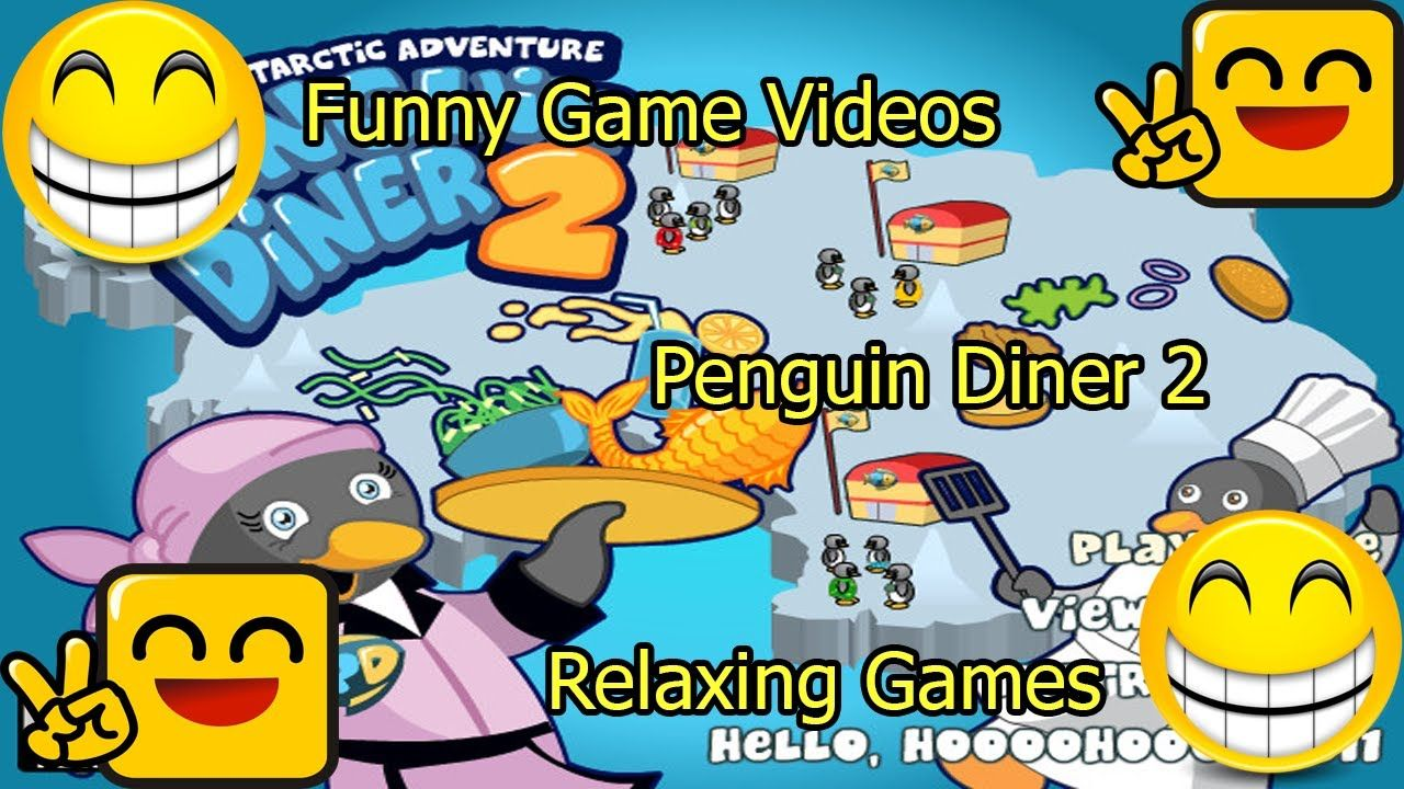 Penguin Diner 2 Penguin diner, Plus games, Game of the day