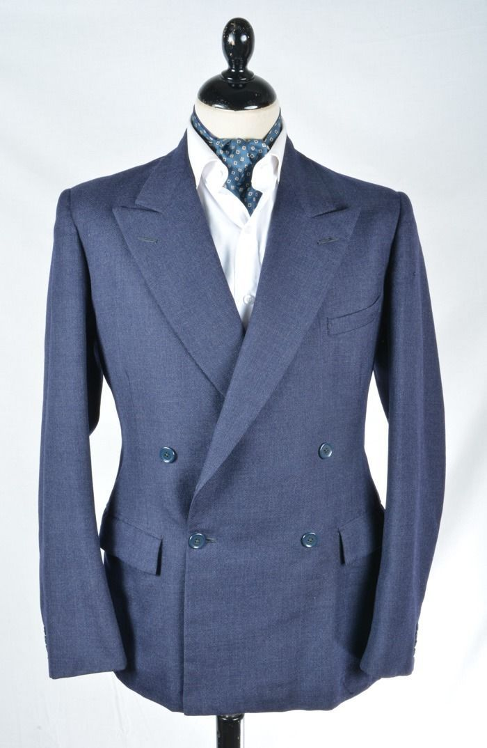 Superb vintage 1940's #double breasted #demob suit 38, View more ...