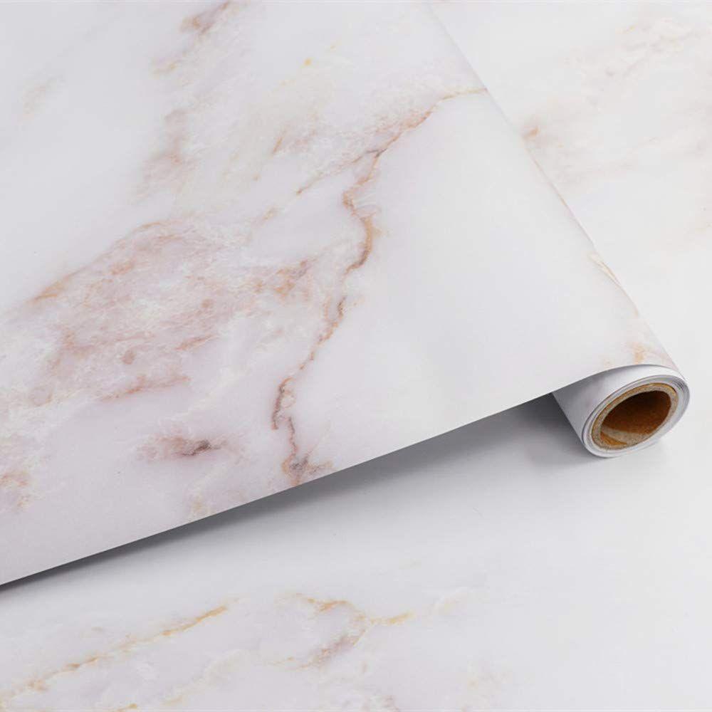 Papier Adhesif Pour Meuble Marbre 40cm X 300cm Sticker