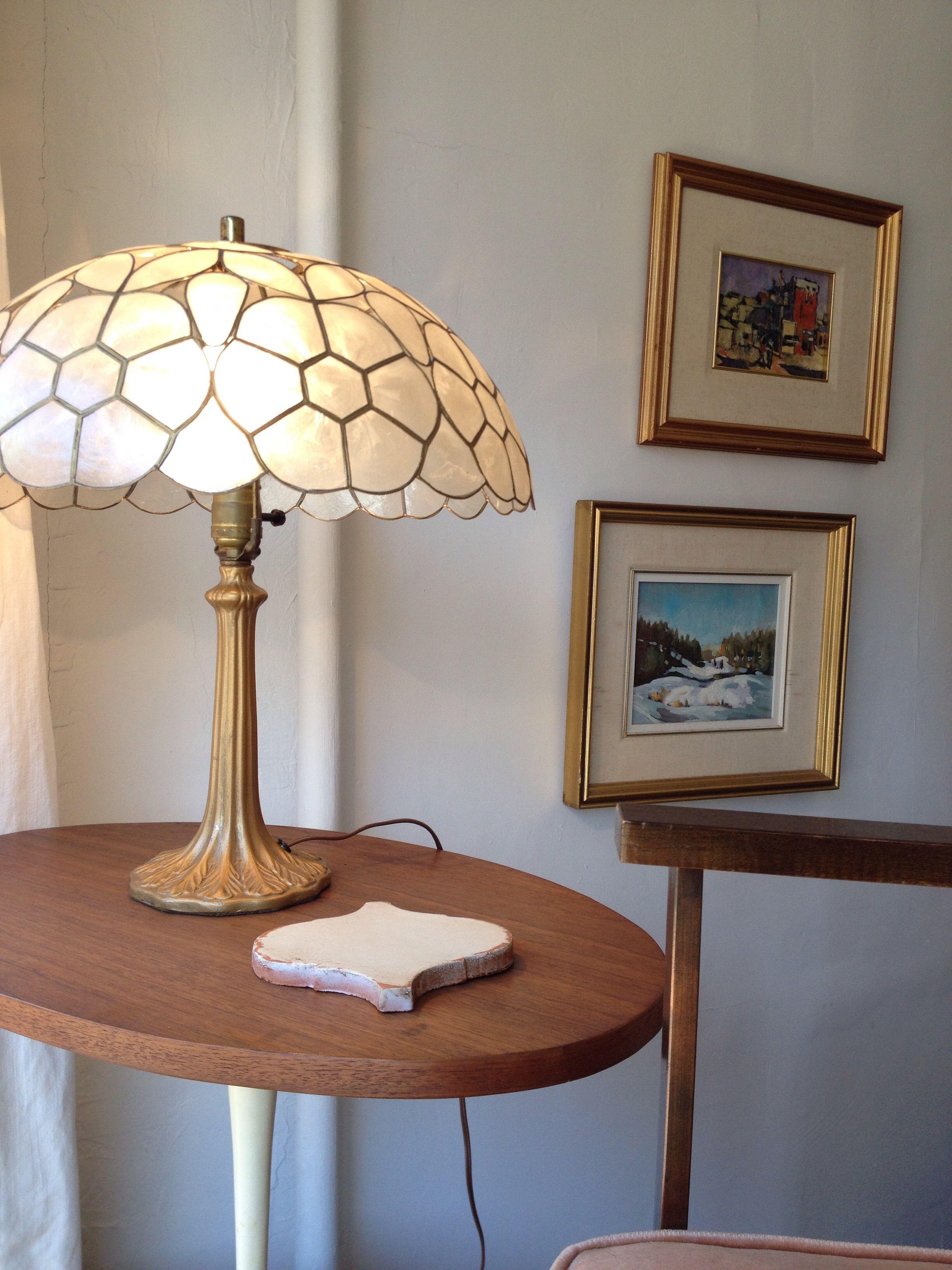 at lamp floor capiz flower id vintage shell f org lamps floors furniture lighting