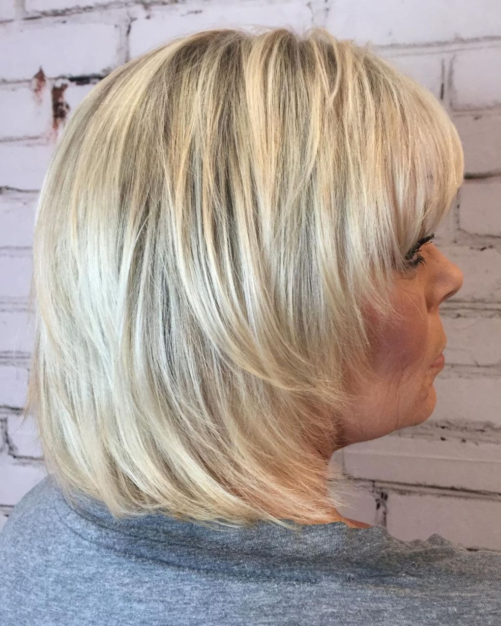 20 Shaggy Hairstyles for Women with Fine Hair over 50 in ...