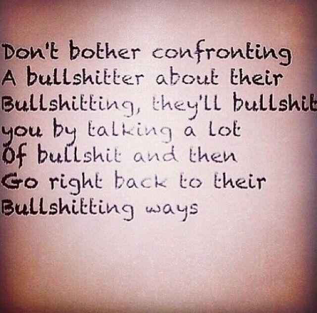 Bullshitting