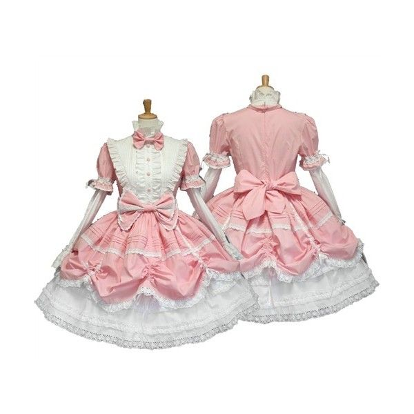 Black and White Lace Bow Dress SD/DOD Characters Anime Maid Cosplay... ($52) ? liked on Polyvore featuring costumes adult costume sexy halloween costumes ...  sc 1 st  Pinterest & Black and White Lace Bow Dress SD/DOD Characters Anime Maid Cosplay ...