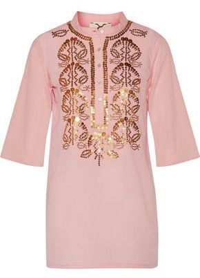 Figue Jasmine sequin-embrodered tunic Cheap Affordable Clearance Pay With Paypal 2018 Online Discount New Arrival Discount Great Deals TOAVfdlS