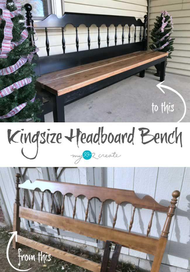 DIY Pallet Coffee Table Gets an Outdoor Makeover is part of Headboard bench, Diy outdoor furniture, Furniture makeover, Redo furniture, Repurposed furniture, Flipping furniture - DIY Pallet Coffee Table Gets an Outdoor Makeover with exterior paint and cedar planking