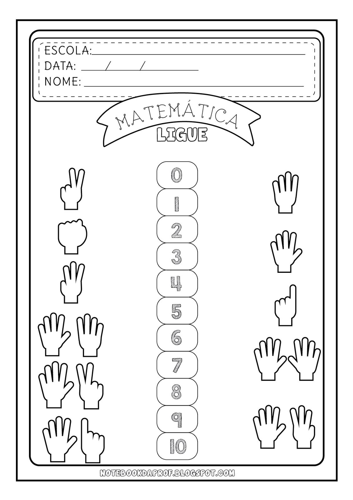 Amado Notebook da Profª | Nomes dos números, Atividades e Matemática GV15