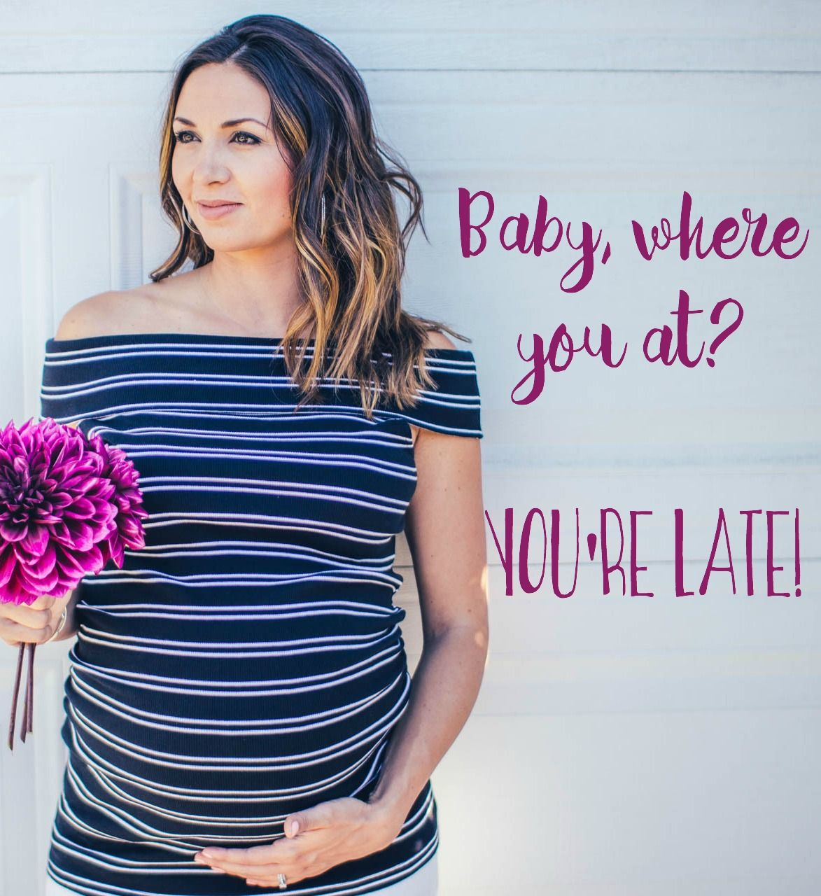 overdue baby, past due date, labor inducing, over 40 weeks