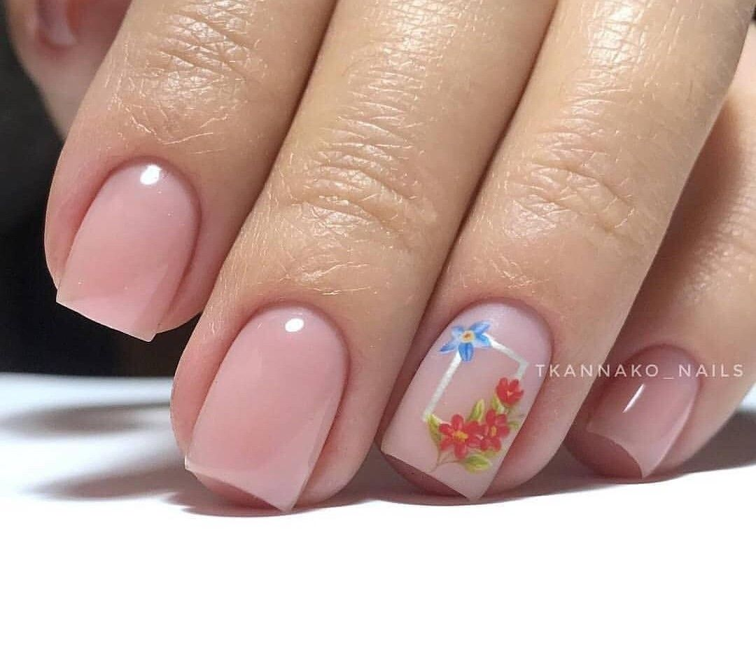 Pin By Ivana Grujic On Floral Nails Nails City Nails Fun Nails
