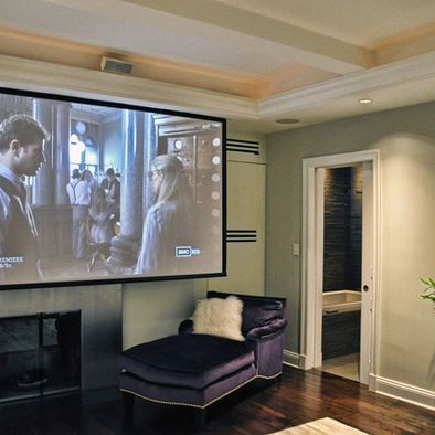 Projector Design Ideas Pictures Remodel And Decor Projector In Bedroom Living Room Theaters Contemporary Bedroom Design