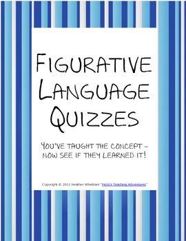 8th Grade Figurative Language Activities | Homeshealth.info