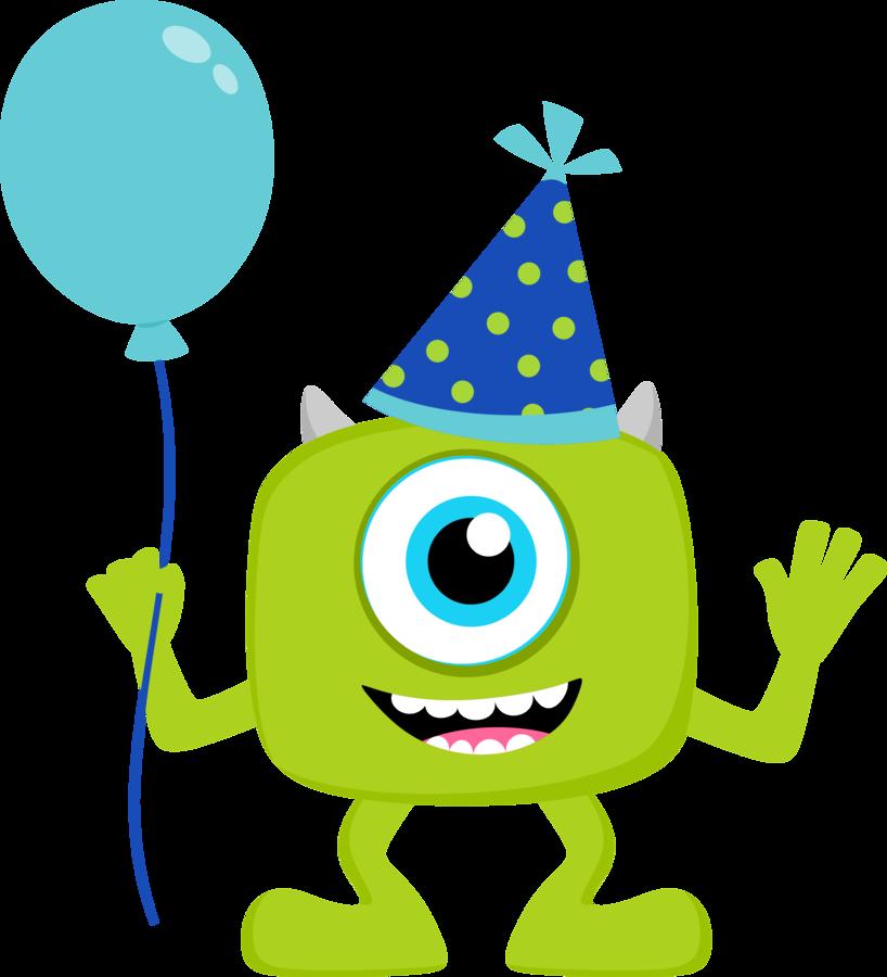 Monster Birthday Clip Art