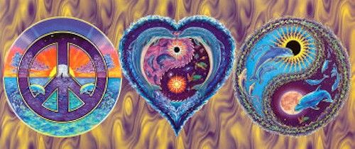 Peace love and harmony quotes Hippie art, Peace love