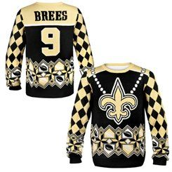 san francisco 94fc8 2b646 New Orleans Saints Drew Brees Ugly Sweater | New Orleans ...