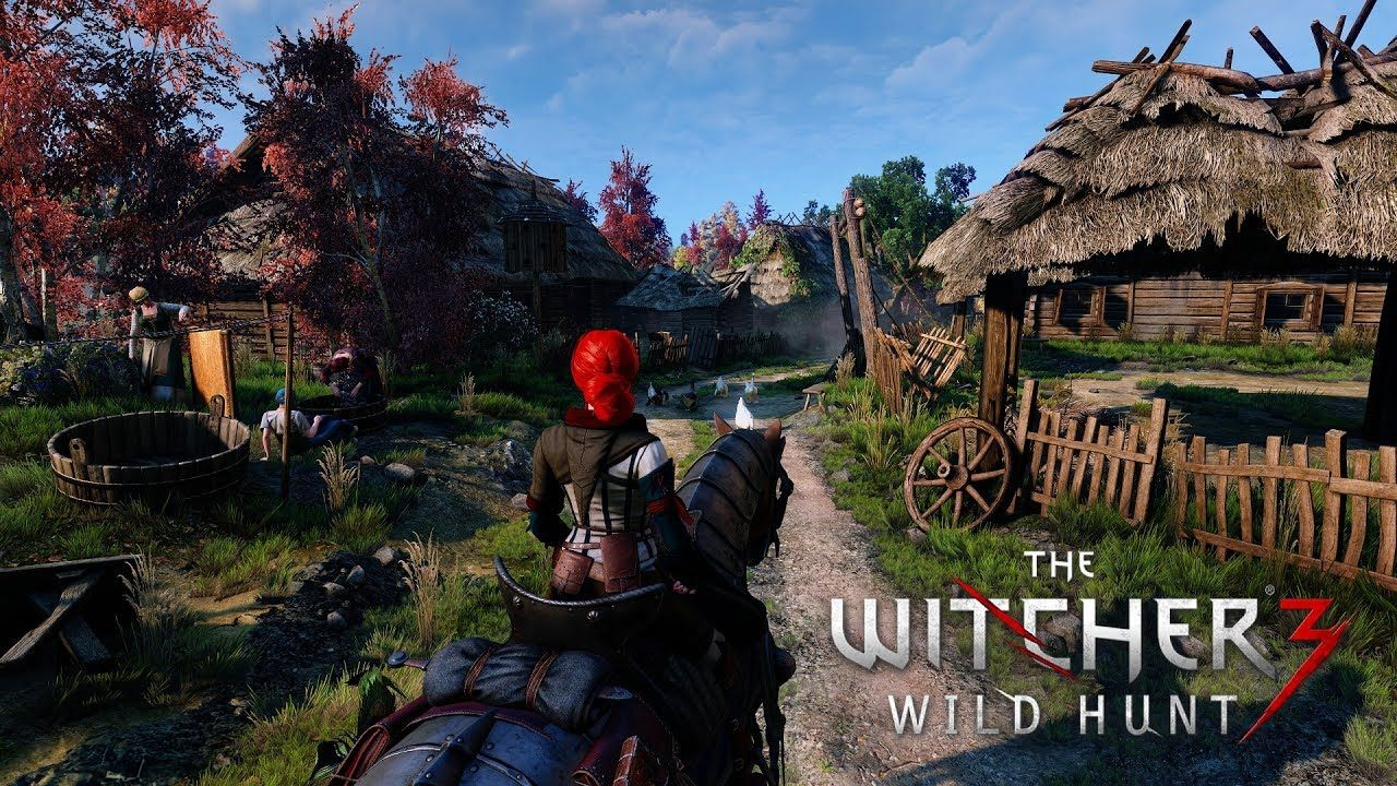 Witcher 3 2k(1440p60) HD Reworked Project 4 6 with 4k