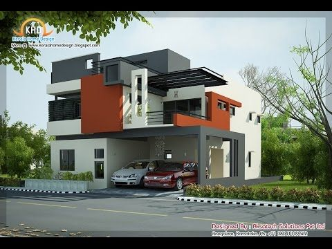 Modern house elevation modern bungalow house elevation for Bungalow elevations