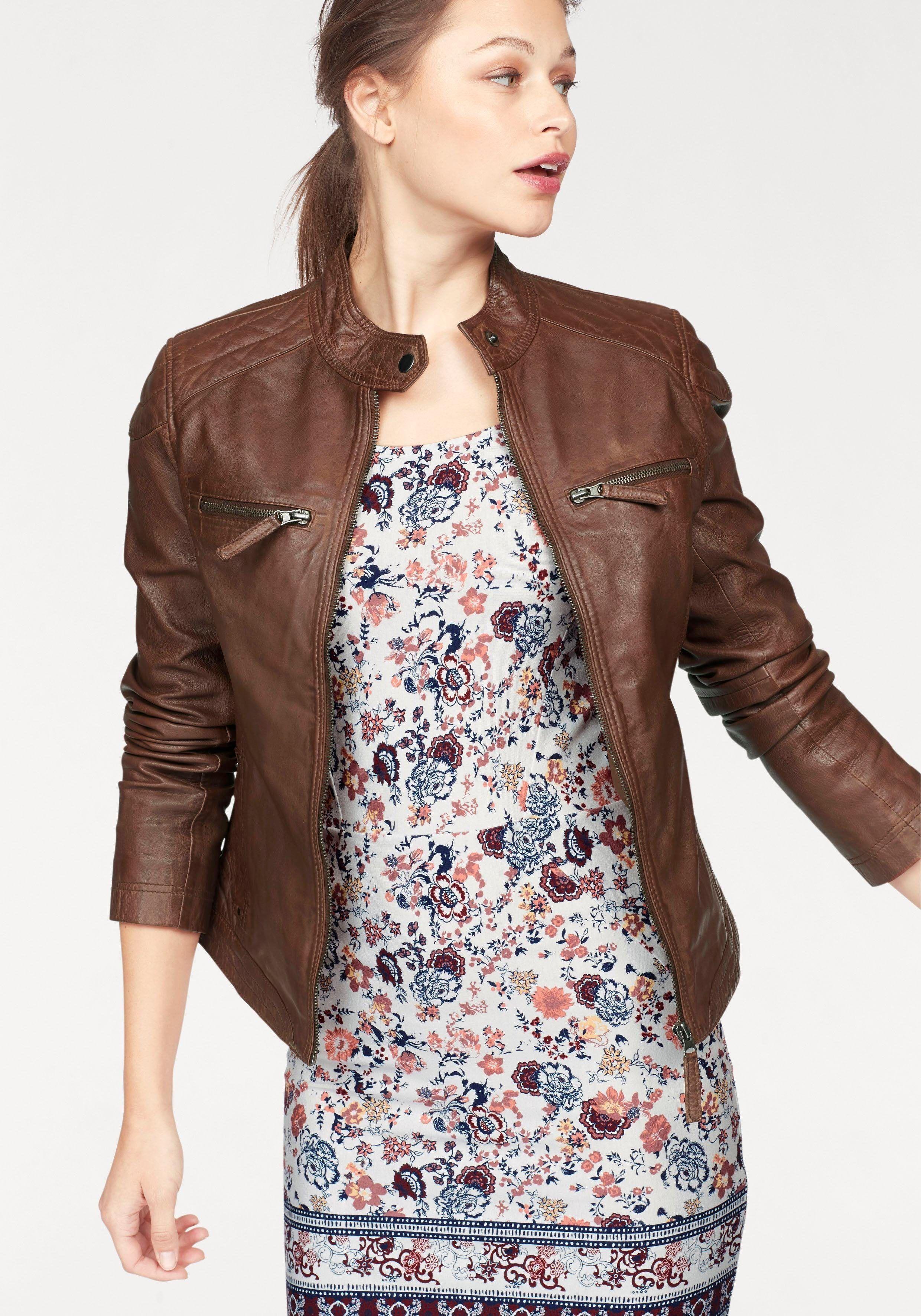 Damen Lederjacken und Jacken | Bomboogie®
