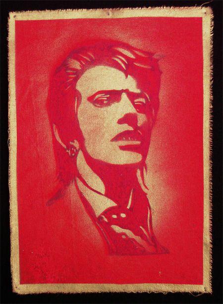 David Bowie by Michael Lane.